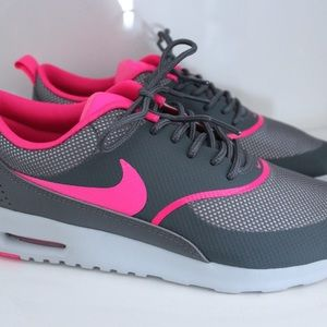 Nike air max Thea grey & pink - like new — size 7